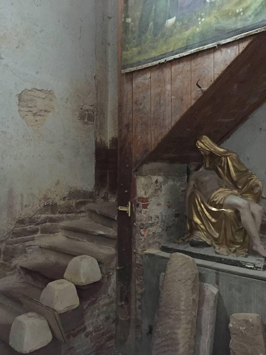 CLOCHER DE L'ÉGLISE SAINT-PANTALÉON DE GUEBERSCHWIHR