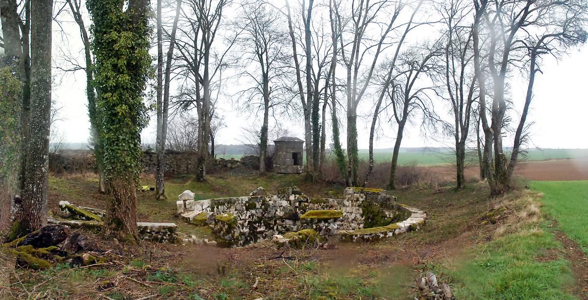 Le site de la Fosse à Coulmier-le-Sec en Côte-d'Or