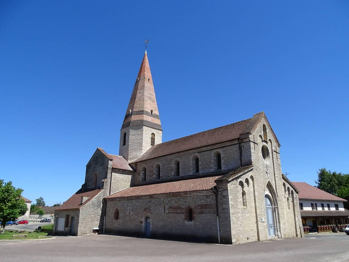 Eglise de Saint-Christophe en Bresse en Saône-et-Loire