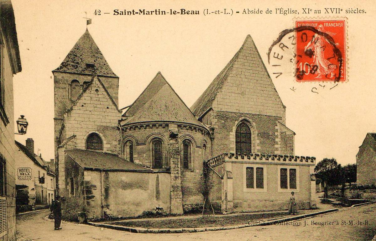 EGLISE SAINT MARTIN DE SAINT-MARTIN-LE-BEAU