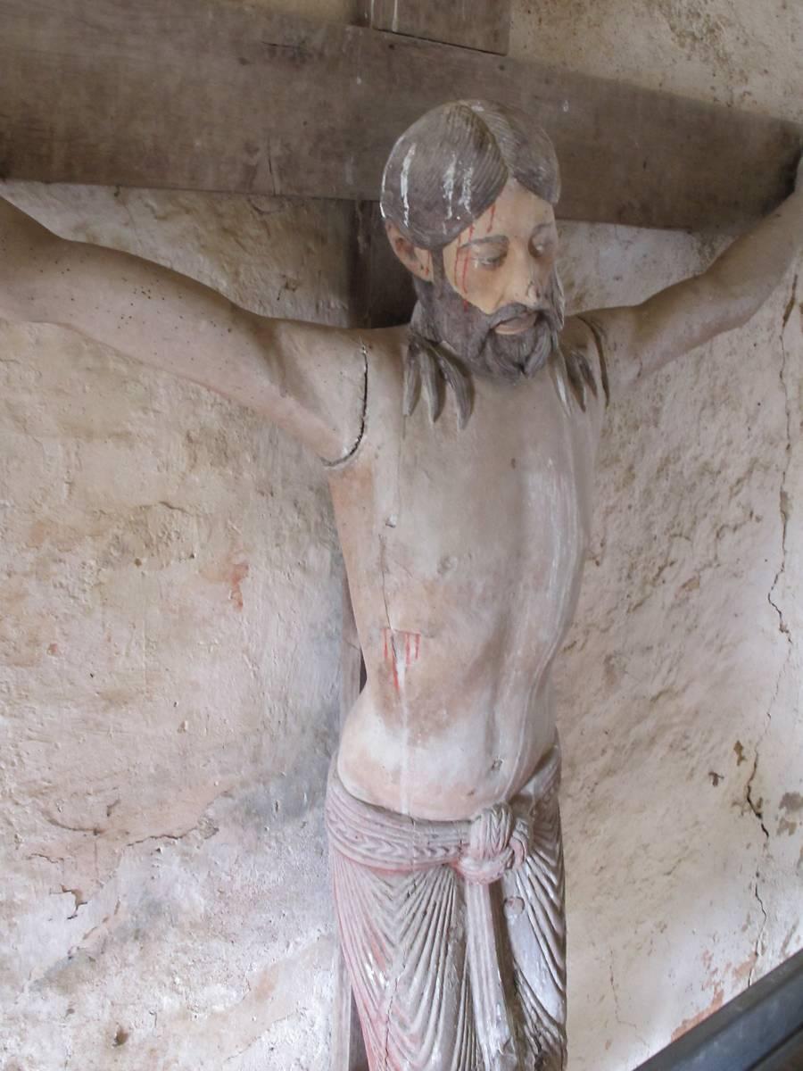 CHRIST EN CROIX DE L'EGLISE DE GARGILESSE