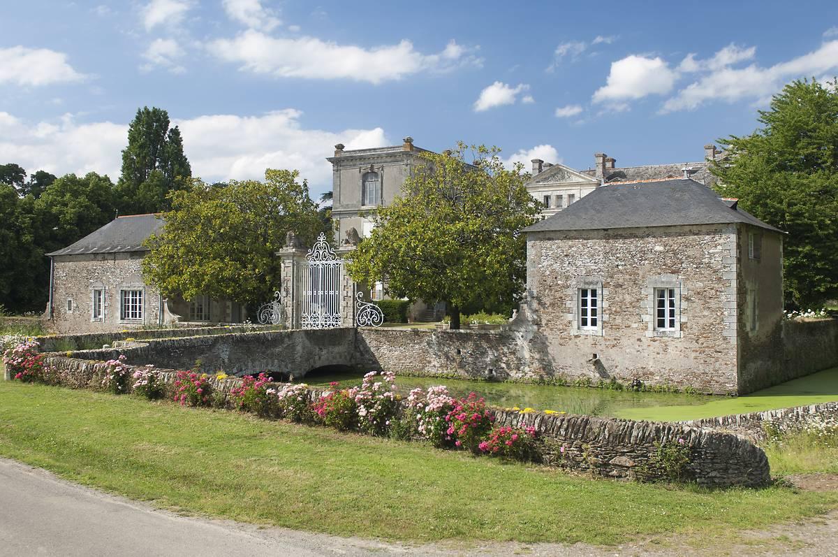 Château de la Berrière à Divatte sur Loire