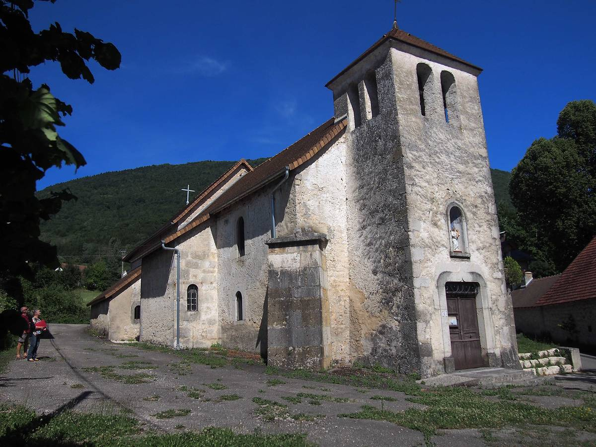 EGLISE SAINT ANDRE A CHAVORNAY