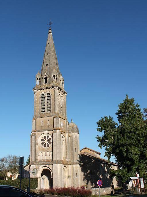 Eglise Saint-Laurent à Téthieu, Landes