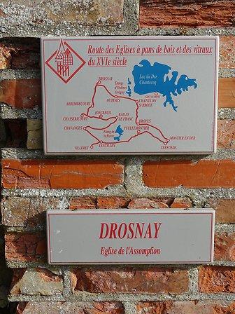 EGLISE DE DROSNAY