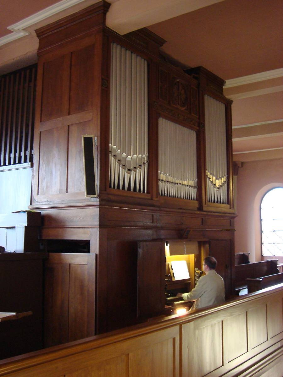 orgue Stiehr-Mockers d'Ernolheim-lès-Saverne