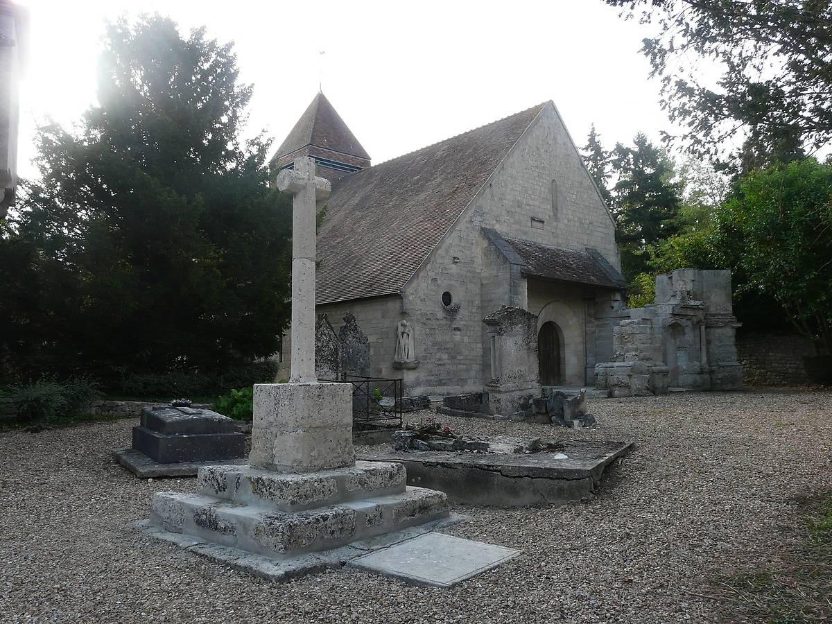 CLOCHE DE L'EGLISE SAINT ANDRE DE MOUSSY