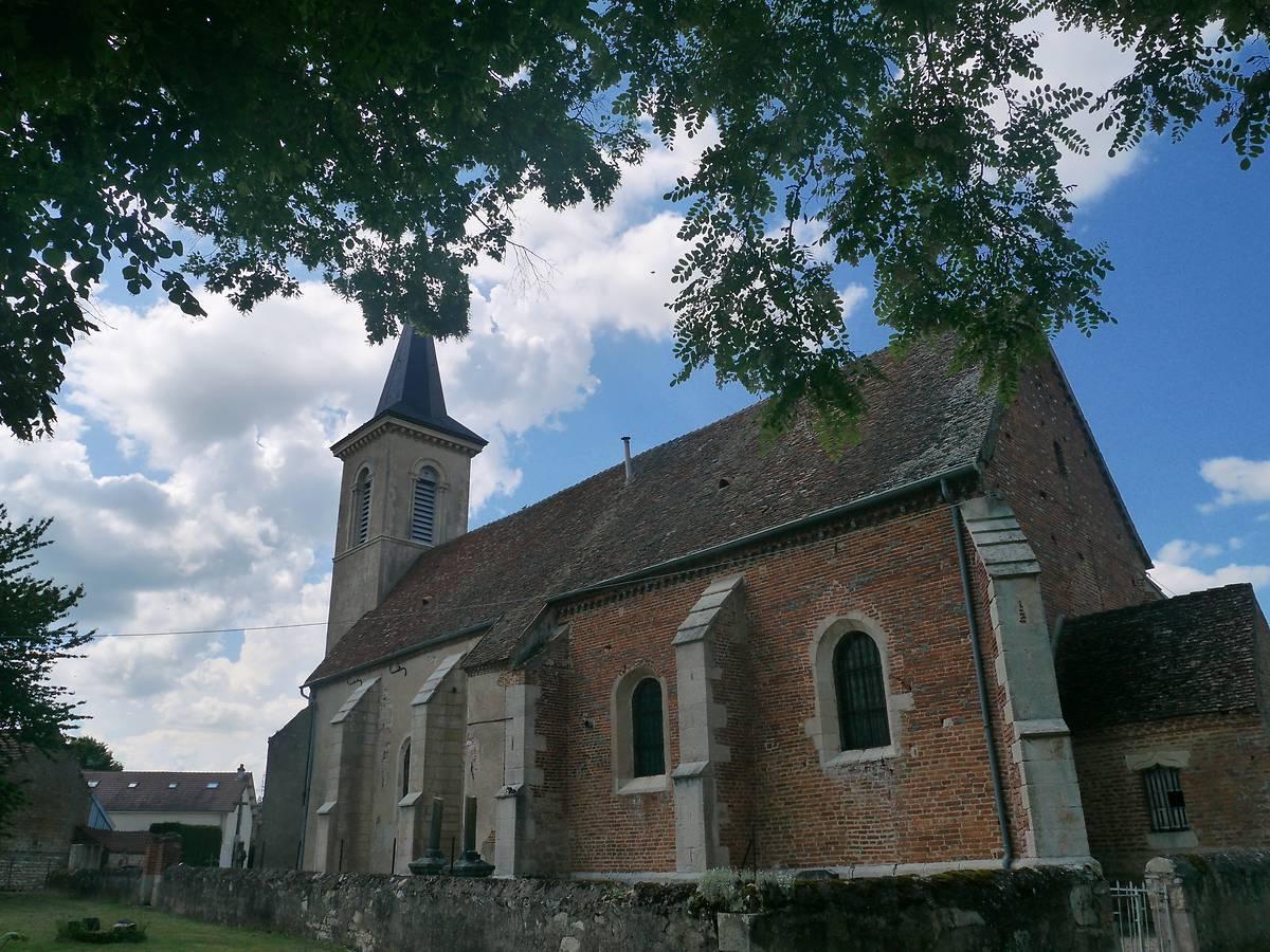 Eglise Saint Pierre de Tichey (Côte-d'Or)