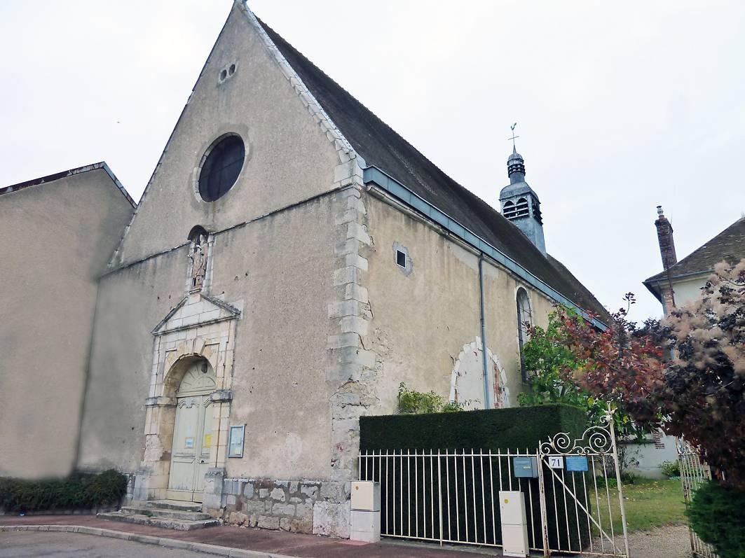 Eglise Saint Savinien le Jeune à Sens (Yonne)