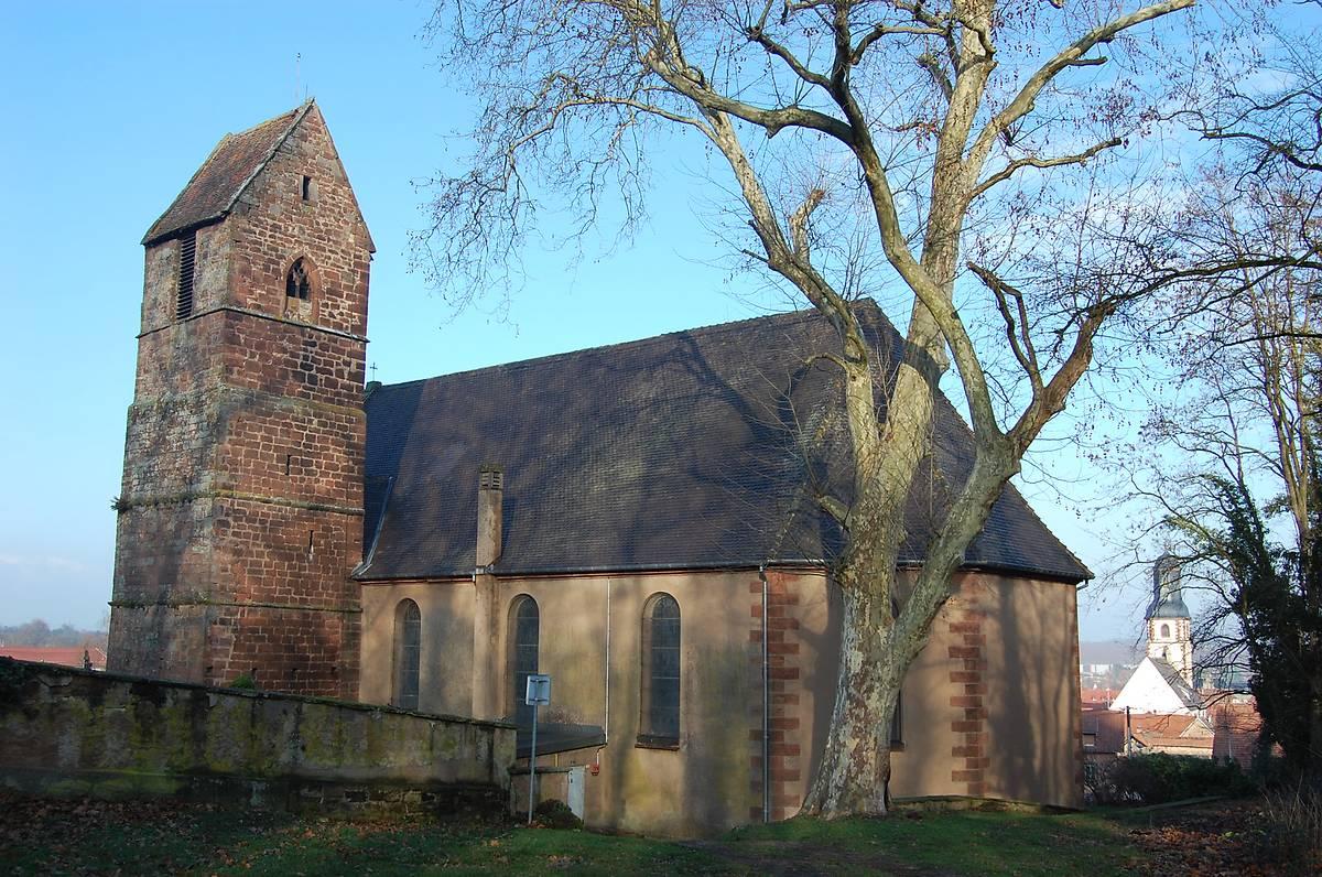 église catholique Saint-Léger de Bouxwiller