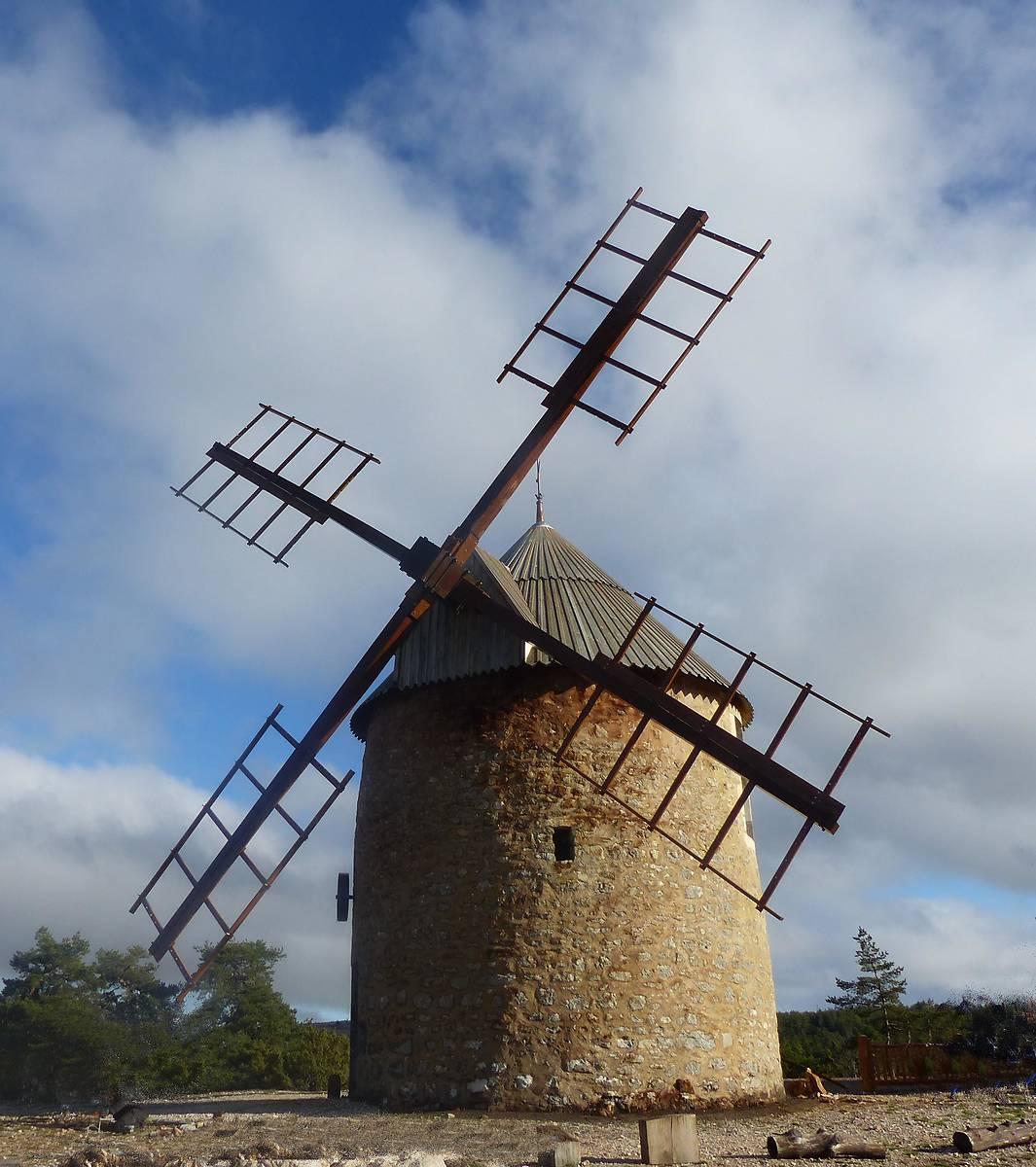 Moulin de la Borie après travaux