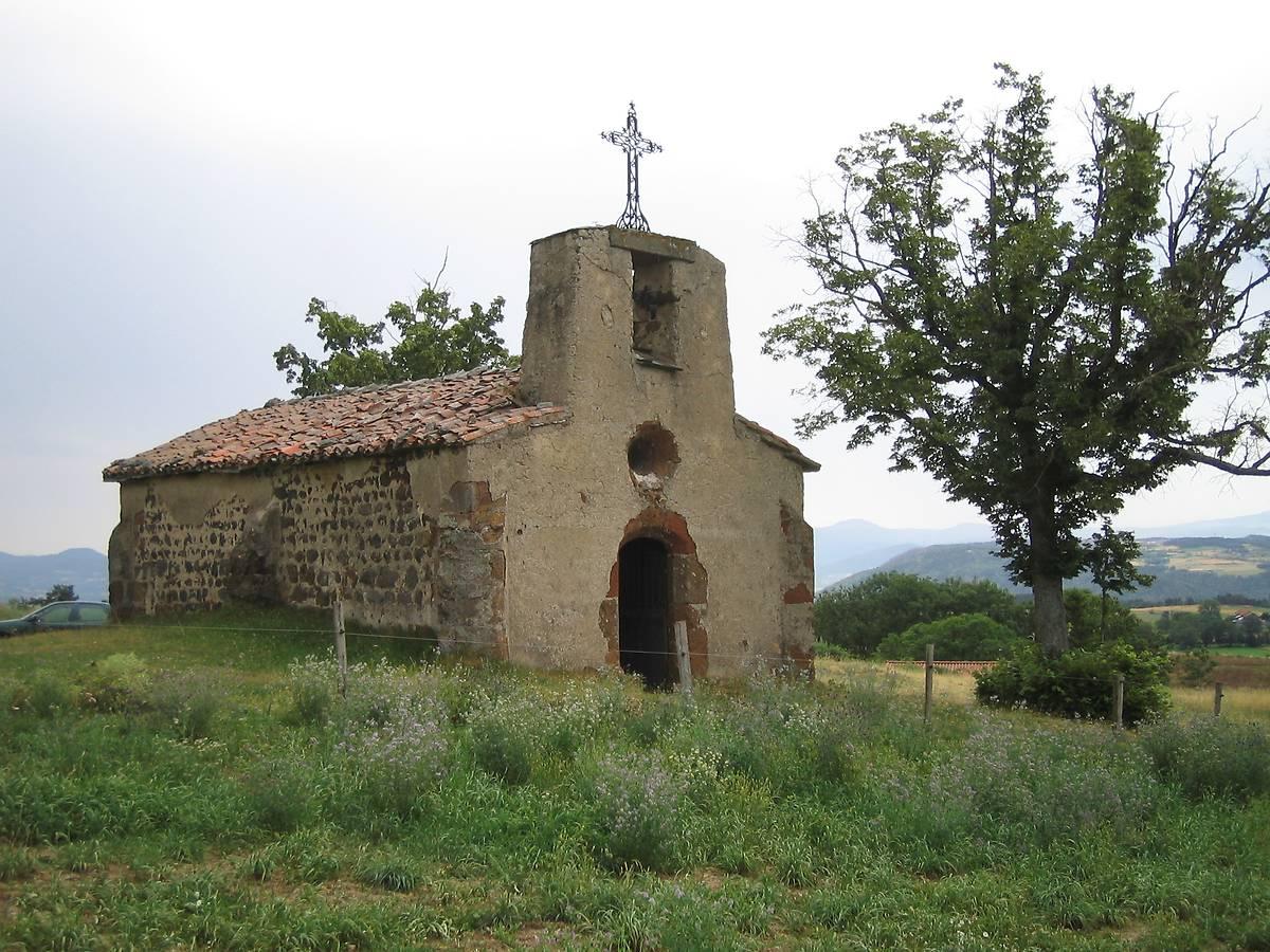 CHAPELLE DE CHASSALEUIL - ST-PAULIEN