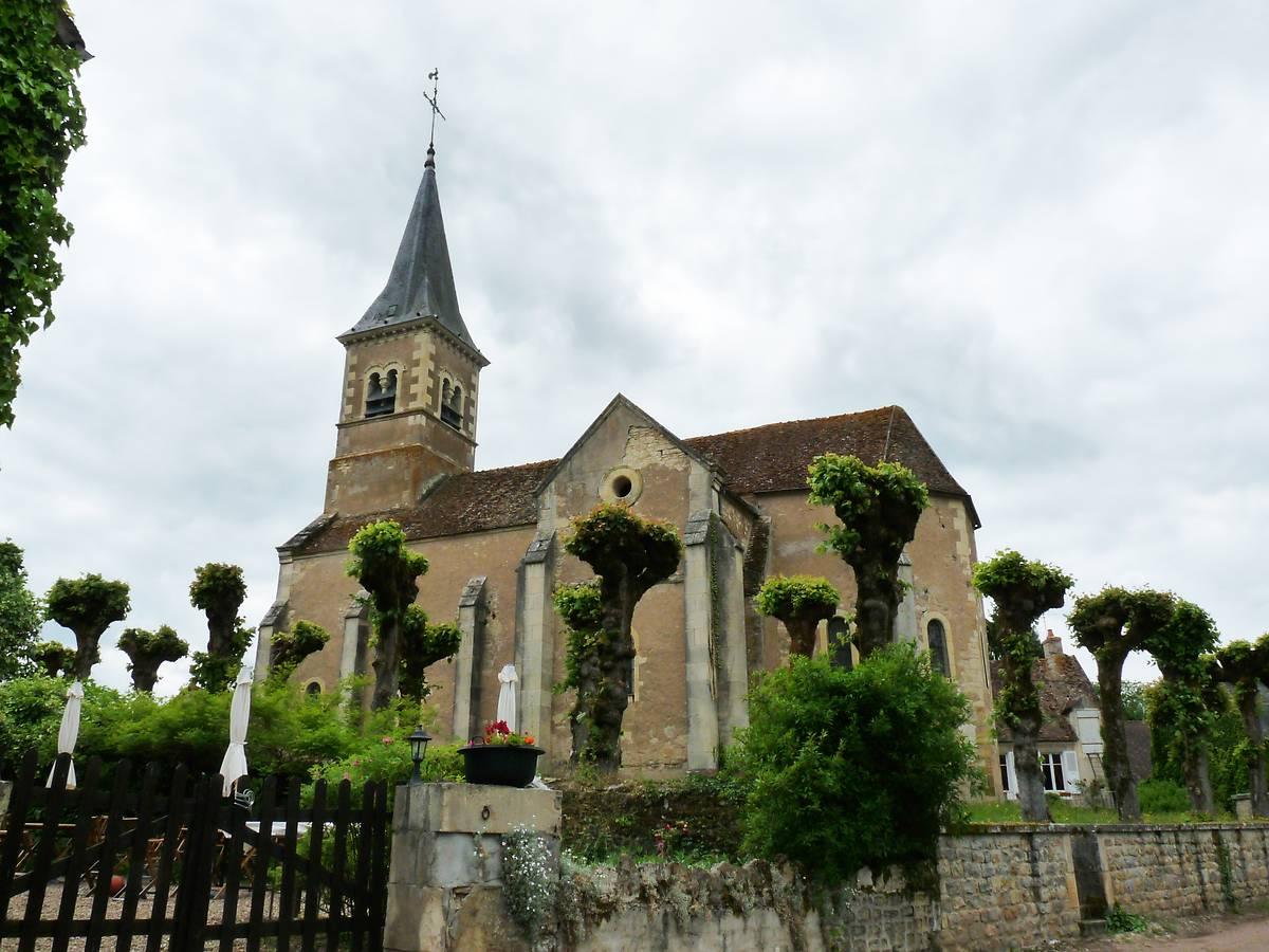 Eglise Saint Georges de Monceaux-le-Comte (Nièvre)