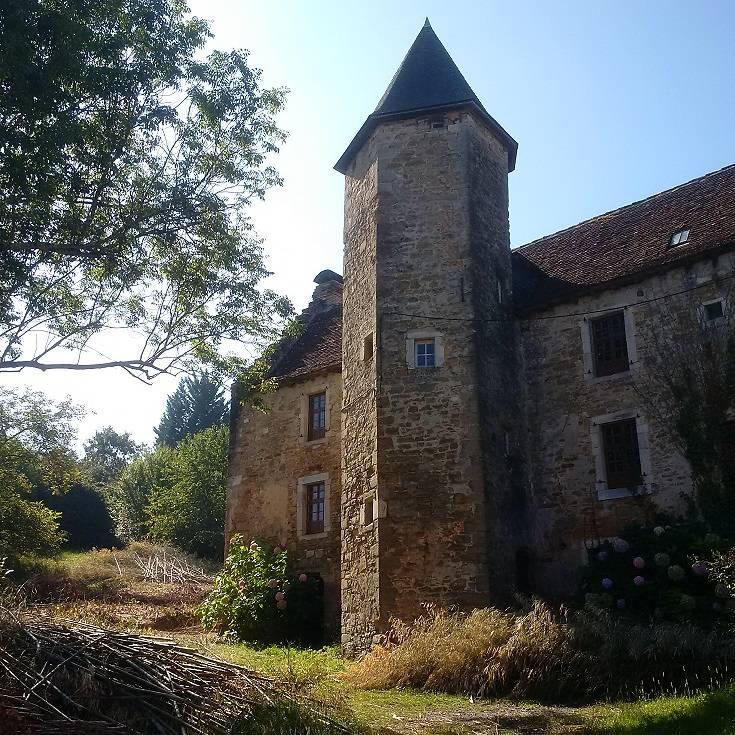 Château de Saint-Pé à Salies de Béarn