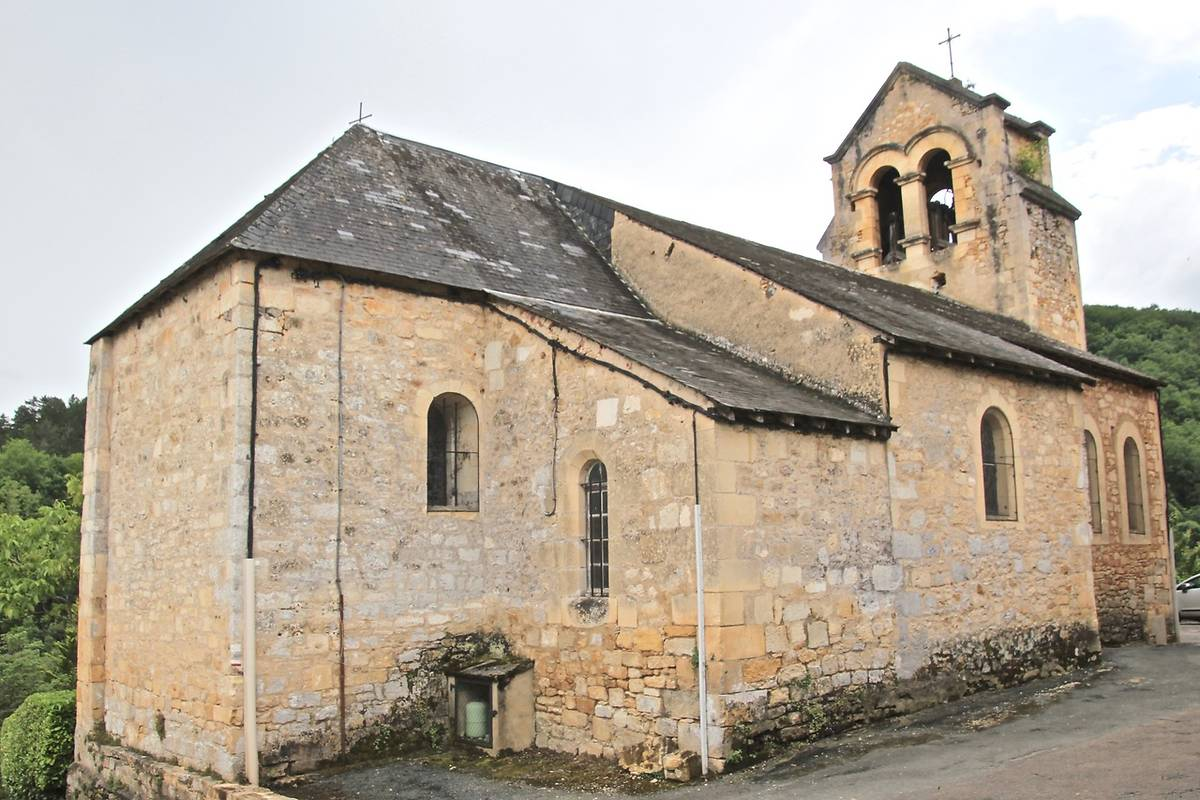 EGLISE SAINT-MICHEL-ARCHANGE A CASTELNAUD-LA-CHAPELLE