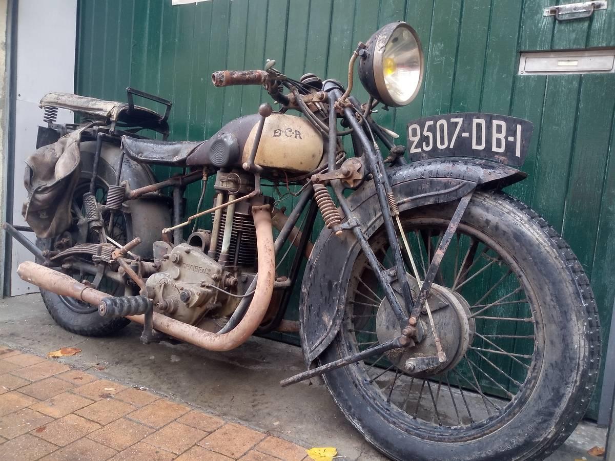 Motocyclette BCR