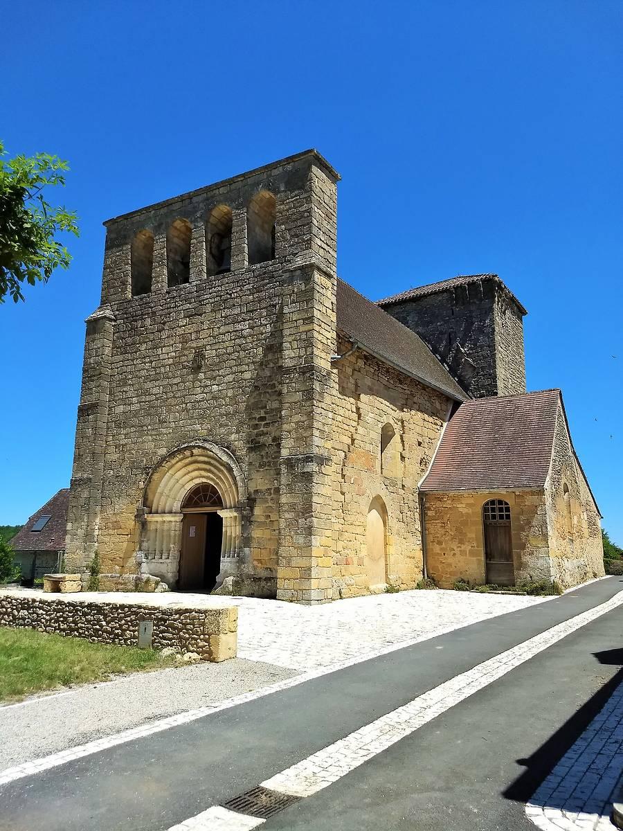 Eglise Sainte-Maire à Fleurac