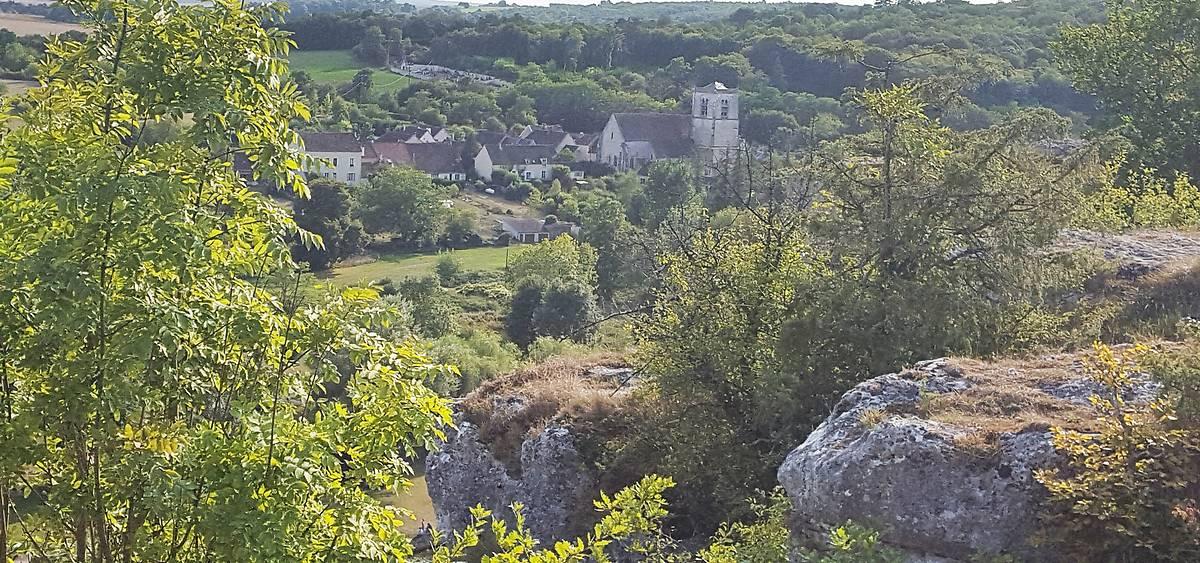 """Eglise """"forteresse"""" Saint-Denis de Merry-sur-Yonne"""