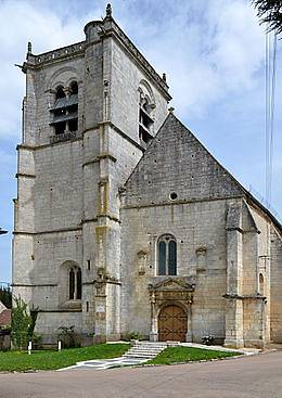 EGLISE SAINT DENIS A MERRY SUR YONNE
