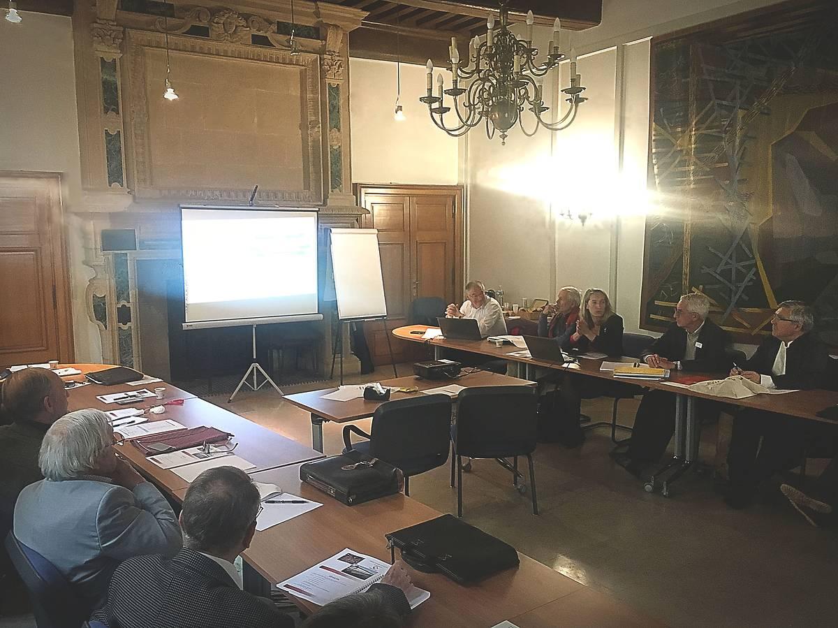 Réunion des délégués de la région Bourgogne-Franche-Comté
