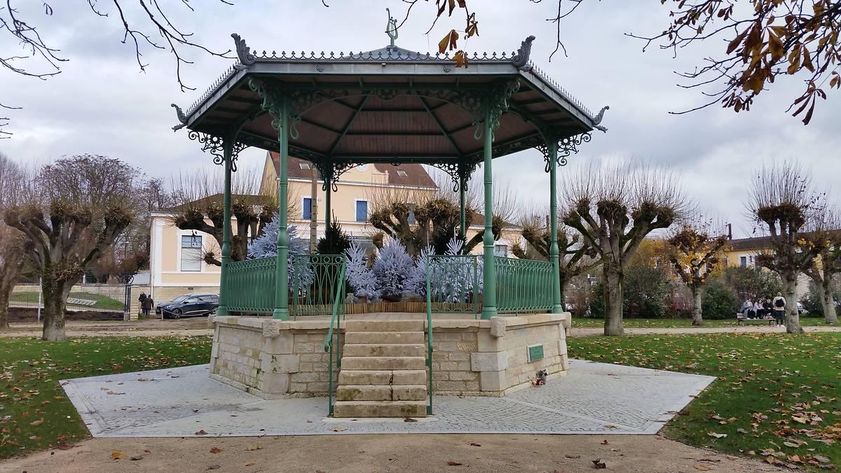 Le kiosque Baptiste Chevreau à Tonnerre