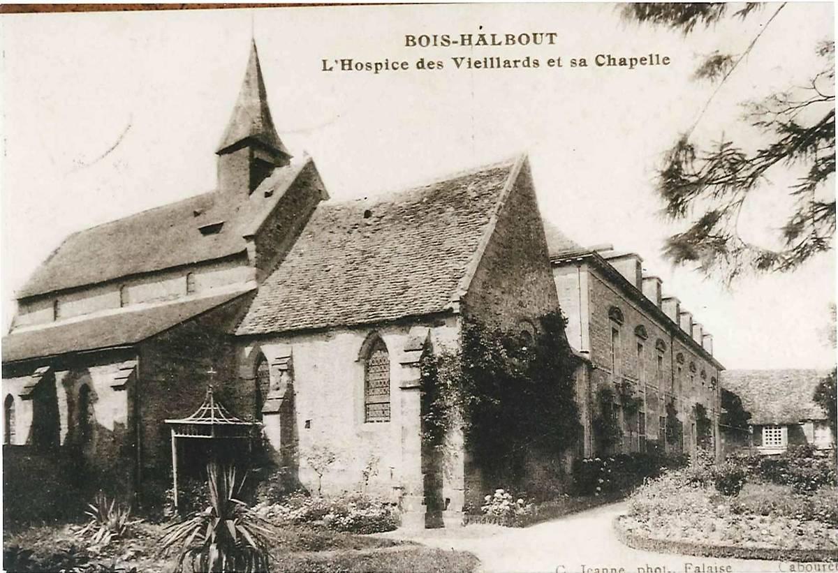 CHAPELLE DE CESNY BOIS HALBOUT
