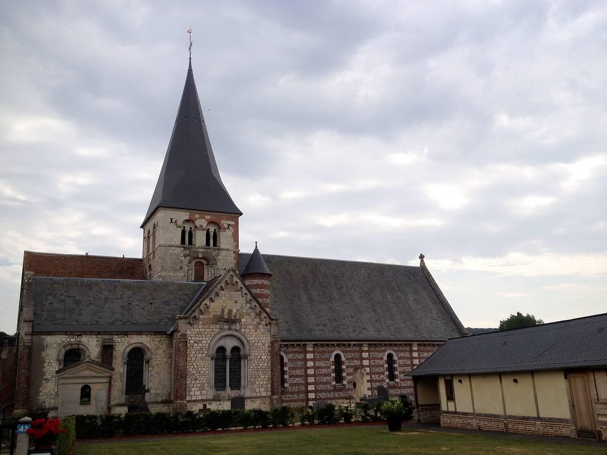 Eglise Notre-Dame d'Osmoy Saint Valéry