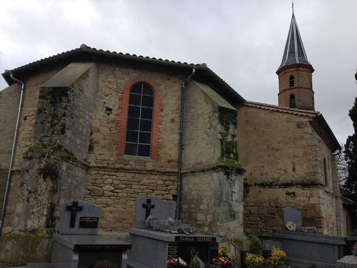 VITRAUX DE L'EGLISE SAINT ELOI DE LA SALVETAT LAURAGAIS