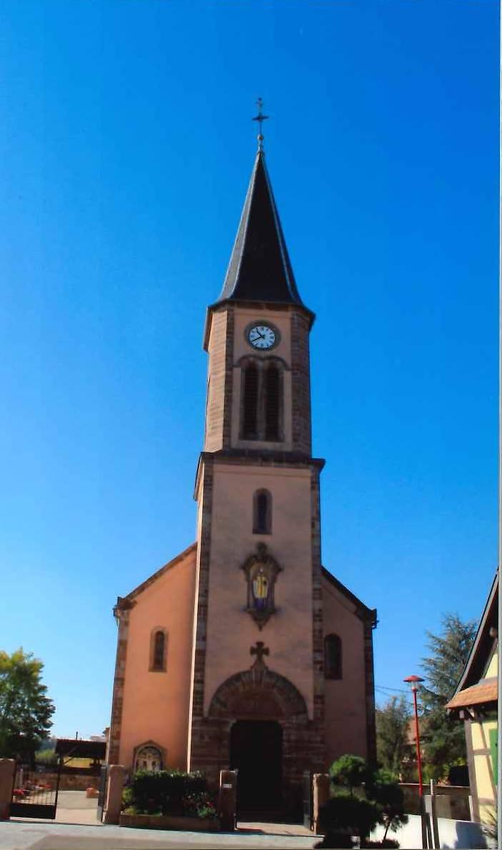 l'église Saint-Arbogast de Richtolsheim
