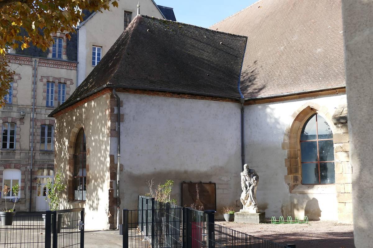 STATUE DE SAINT-GILLES - MOULINS
