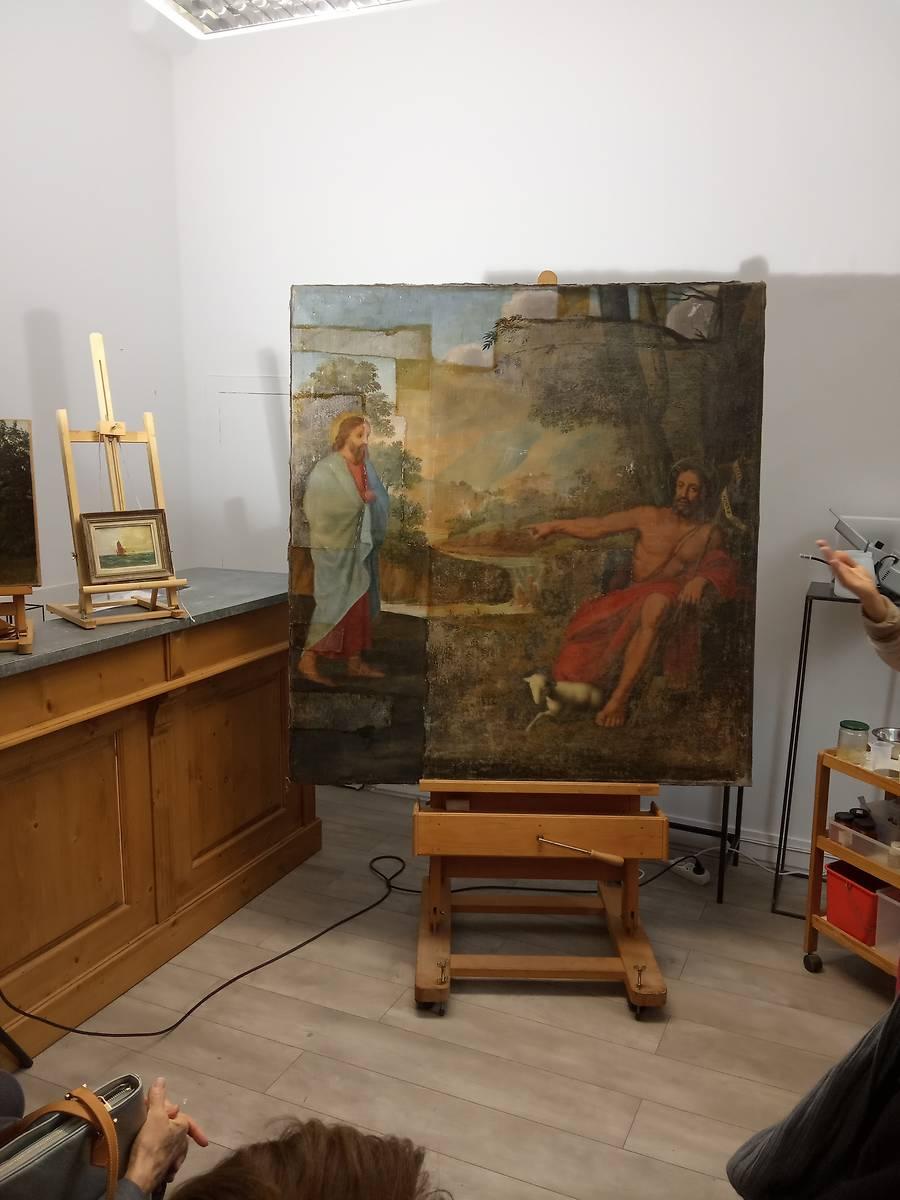 Restauration du retable de l'église de Fleurey-sur-Ouche