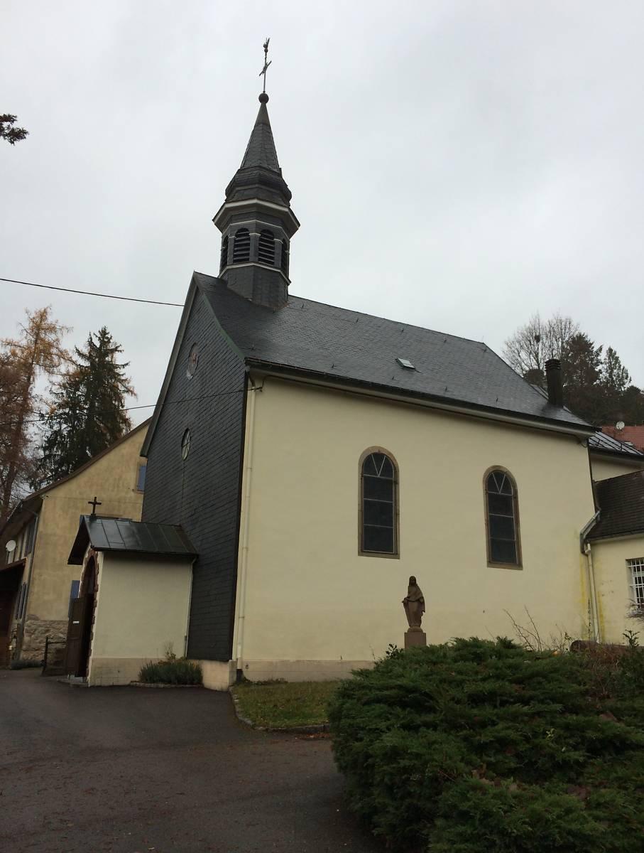 l'église catholique du Hohwald