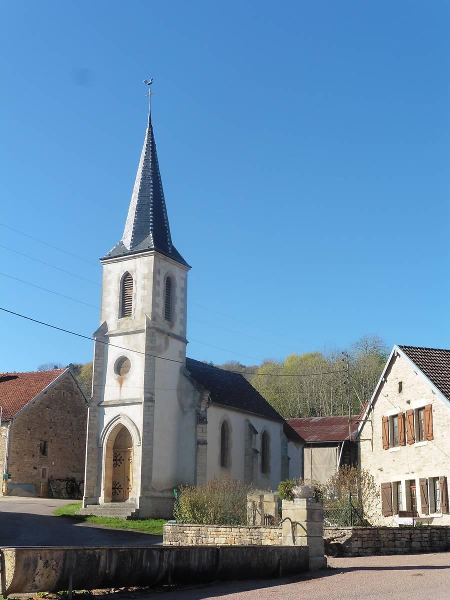 Chapelle de Panthier à Créancey