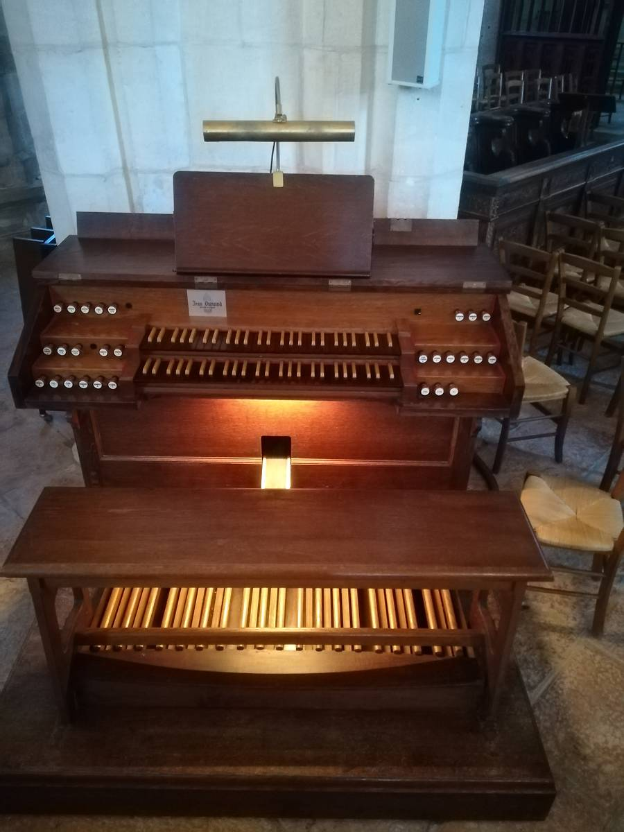 ORGUE DE LA COLLEGIALE DE ROUVRES EN PLAINE