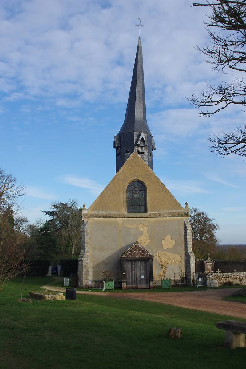 EGLISE SAINT ELOI DE CRECY COUVE