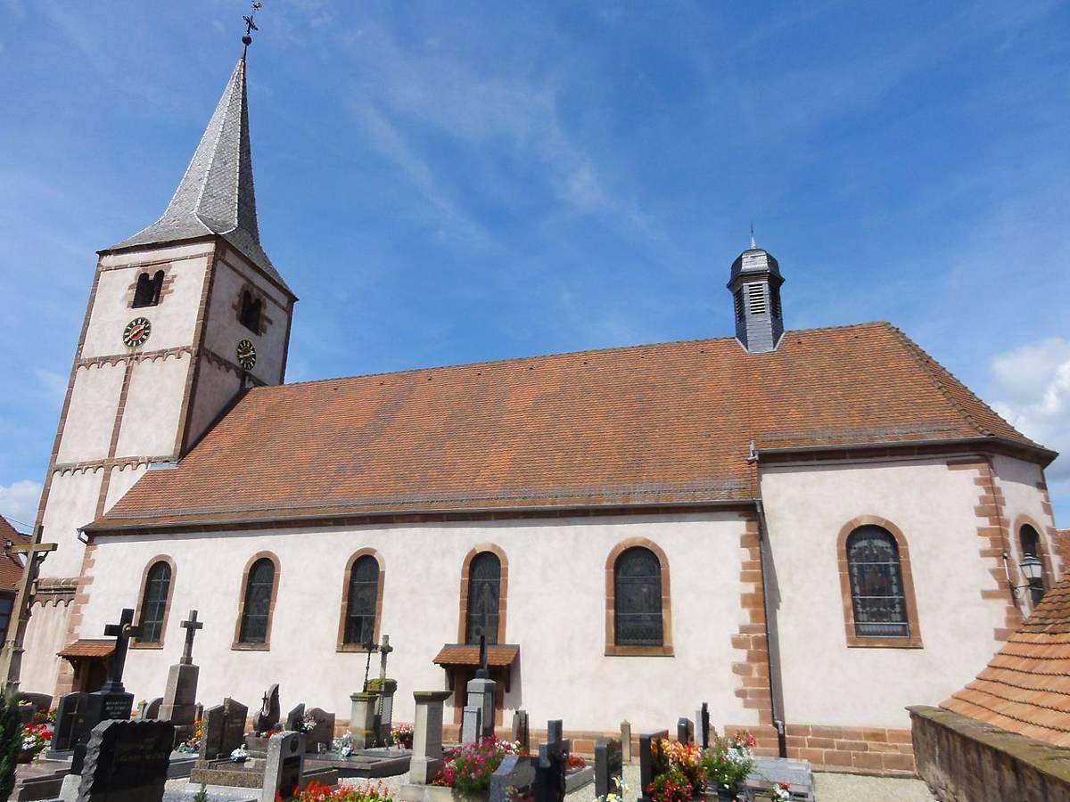 l'église Saint-Laurent de Gougenheim