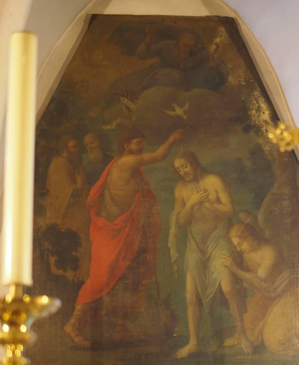 TABLEAU LE BAPTEME DE NS JESUS CHRIST A NEOULES