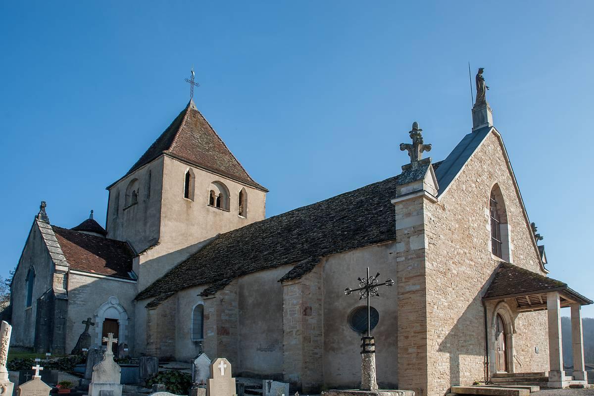 Eglise Notre Dame de l'Assomption à Champagnat