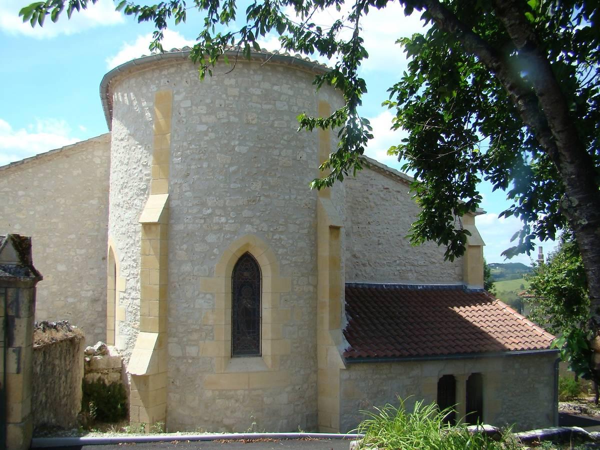 Eglise Saint-Martin d'Auradou