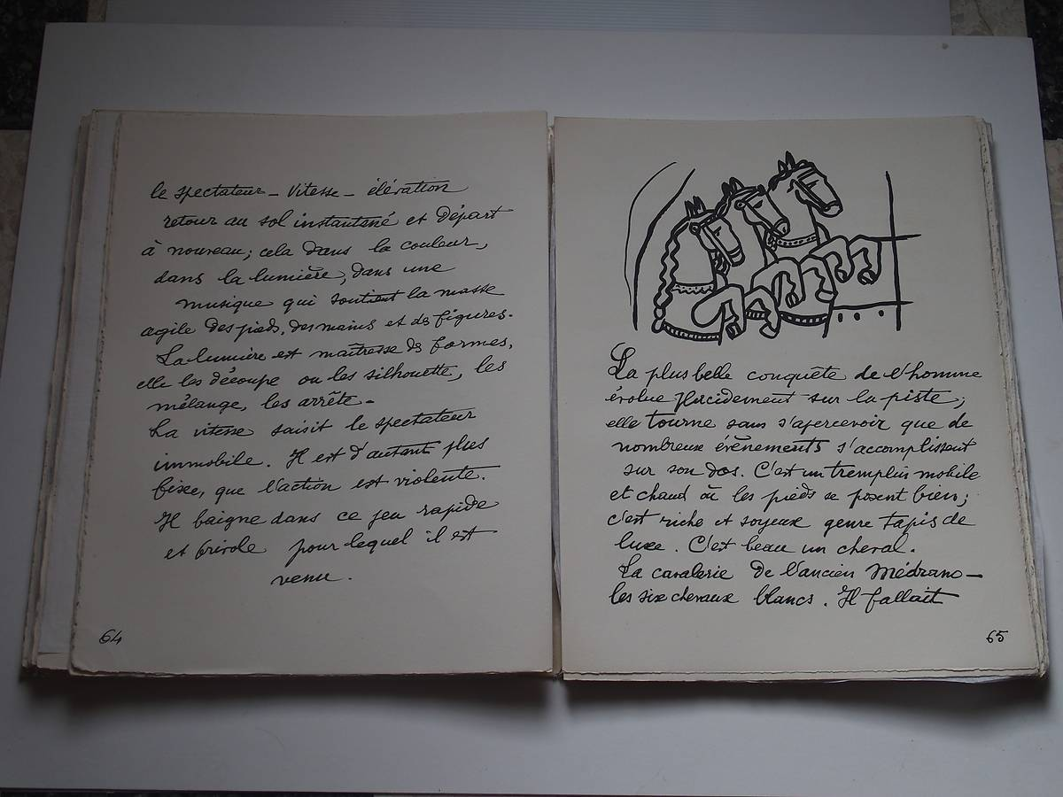 OEUVRE DE FERNAND LEGER - ARGENTAN