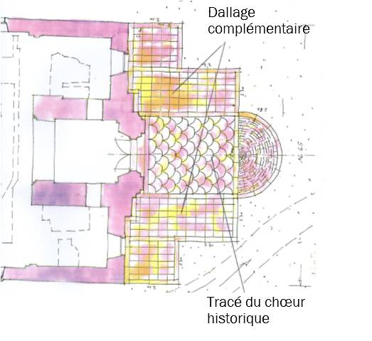 CROIX DE MISSION ET CLOCHER DE L'EGLISE DE LANDSER