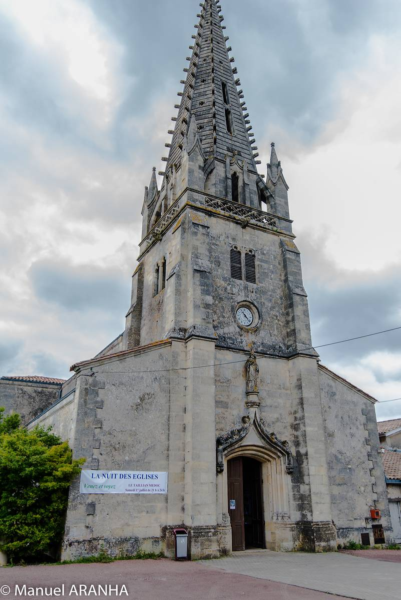 Eglise Saint-Hilaire du Taillan Médoc