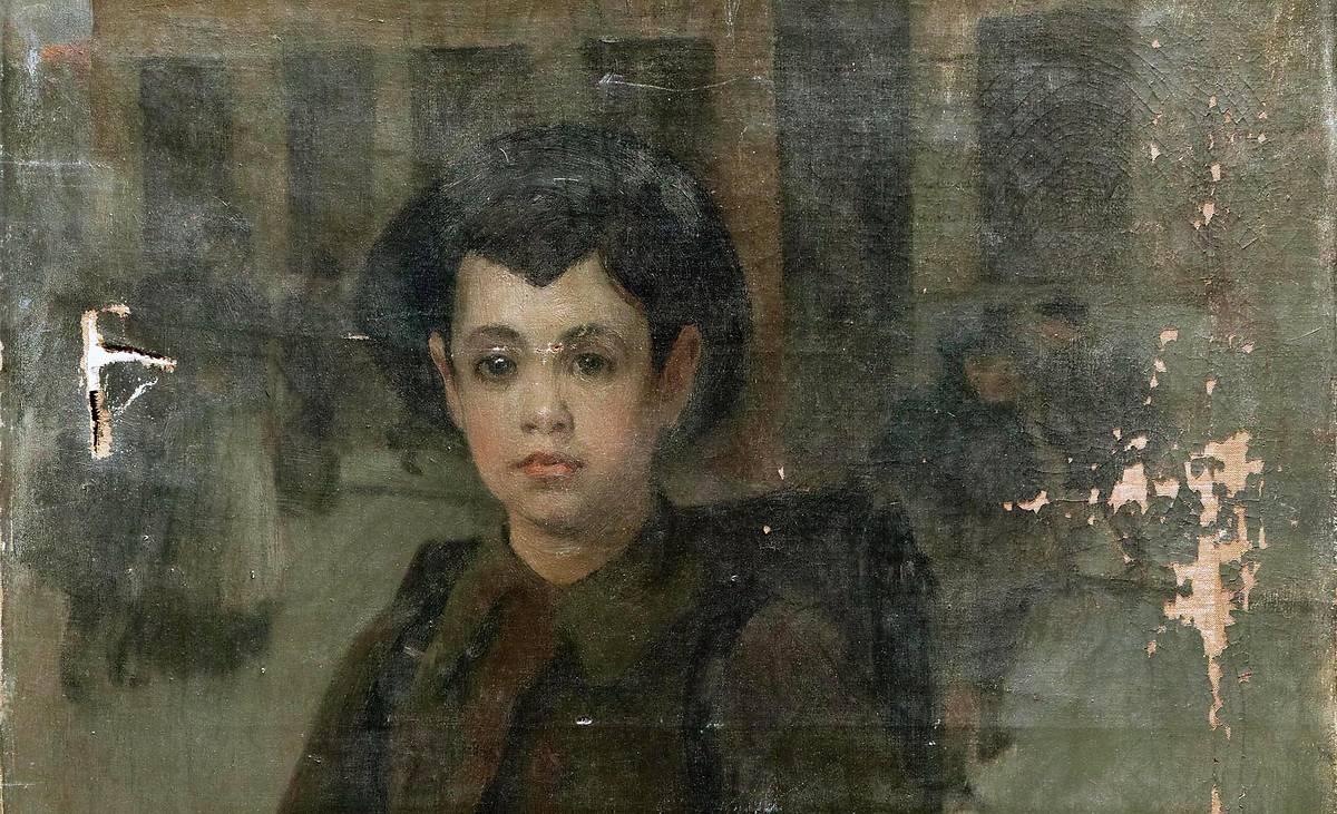 PORTRAIT D'ANDRE LEVY DU MUSEE DE DOLE
