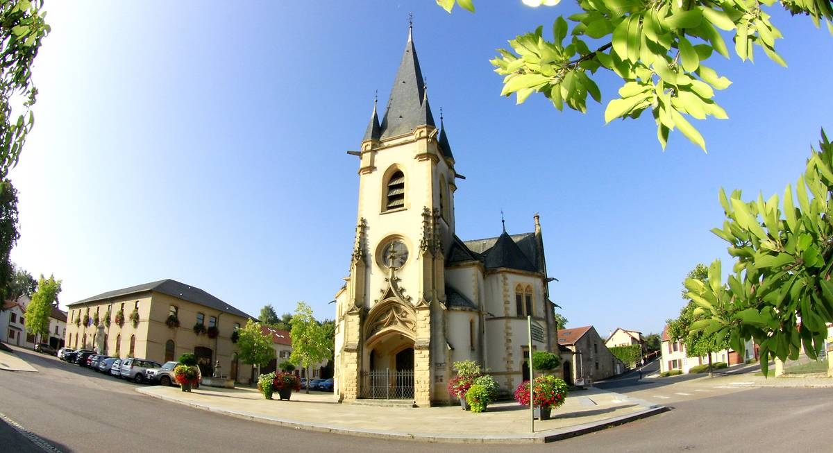 TEMPLE PROTESTANT DE COURCELLES-CHAUSSY