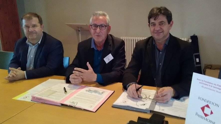 Signature convention de partenariat CdC du Confluent et des Coteaux de Prayssas