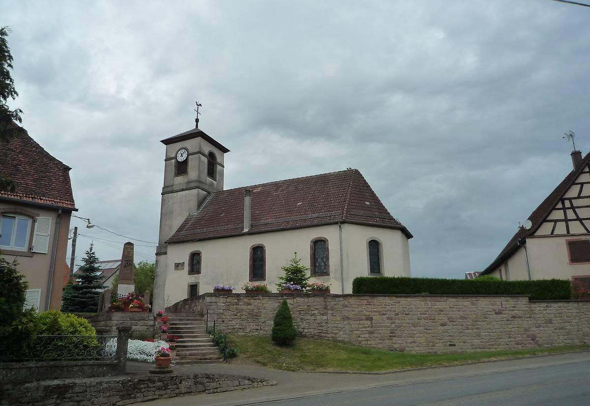 Temple protestant d'Asswiller