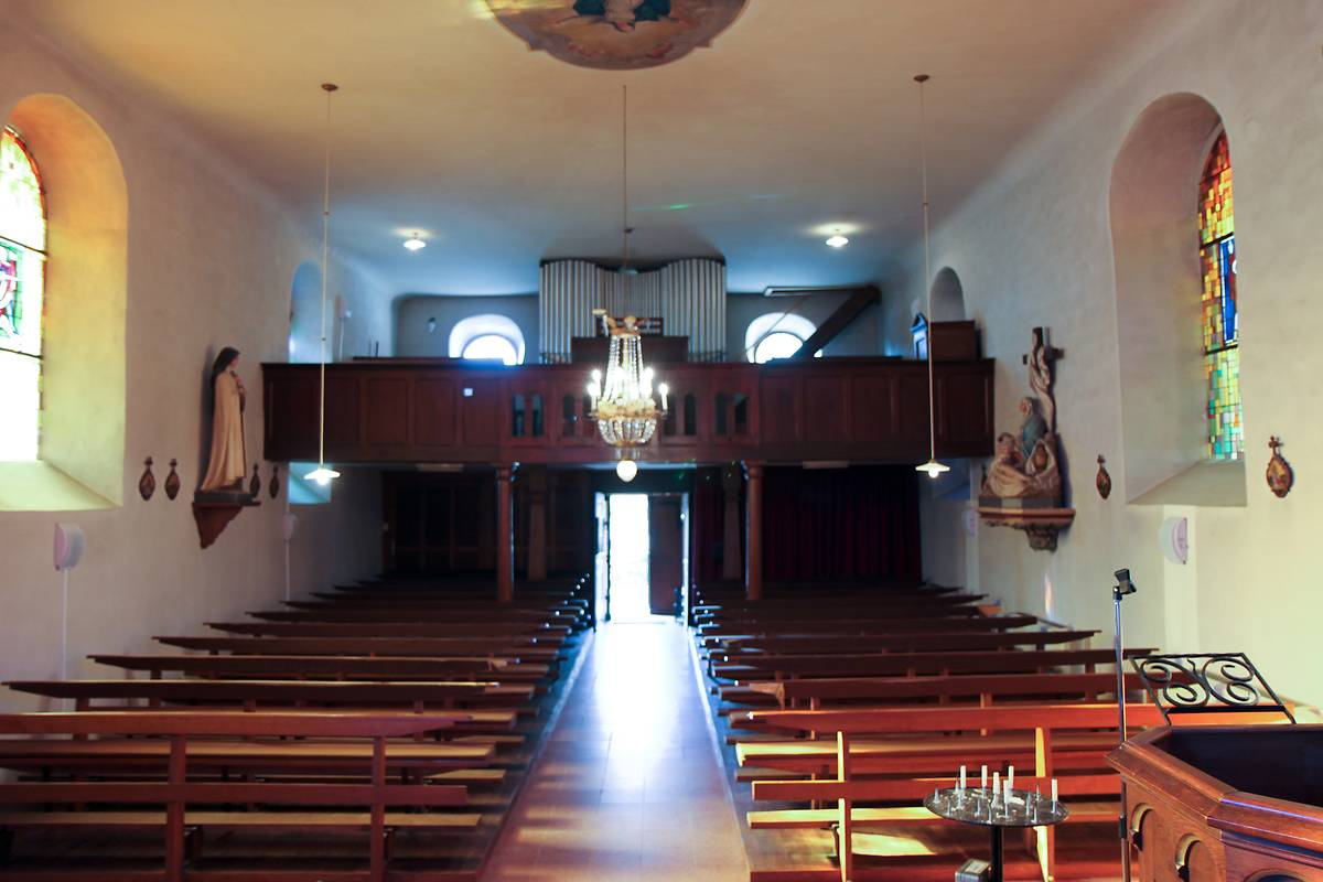 EGLISE CATHOLIQUE SAINT-MARTIN D'OBERSTEINBACH