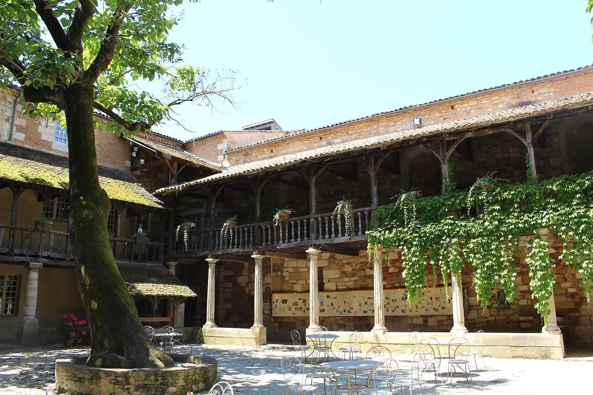Cloître des Récollets à Bergerac