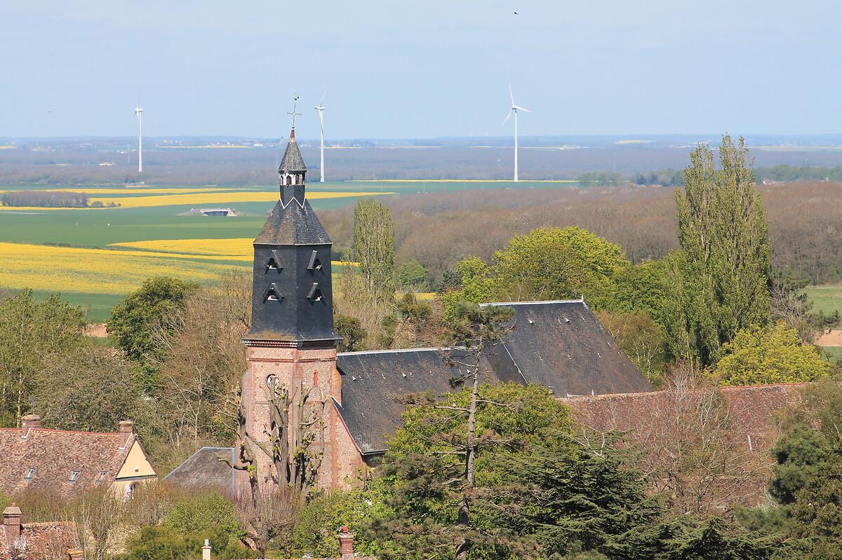 Eglise St Martin 2EGLISE SAINT-MARTIN A TREMBLAY-LES-VILLAGES
