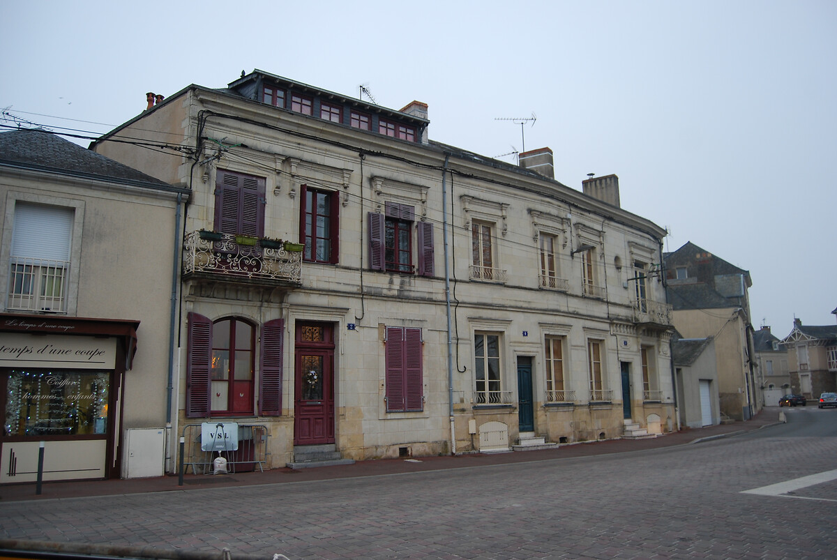 DSC_4881Vue de la ville de Sablé sur Sarthe